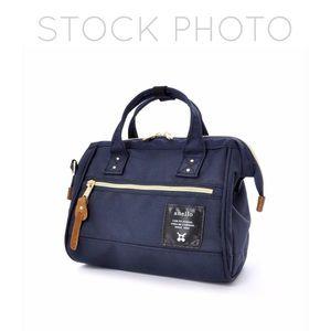 Anello Hinge Clasp Mini Shoulder Bag